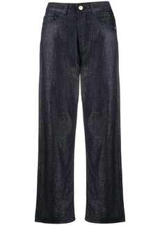 Armani high-waist cropped trousers