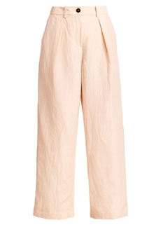 Armani High-Waist Wide-Leg Trousers