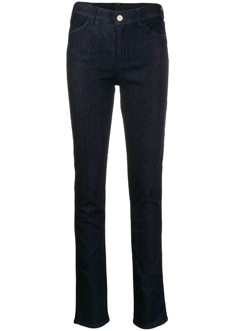 Armani high waisted skinny jeans