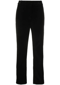 Armani high-waisted slim-fit trousers