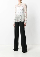 Armani high waisted tailored trousers