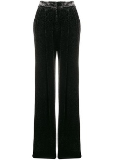 Armani high waisted tapered trousers
