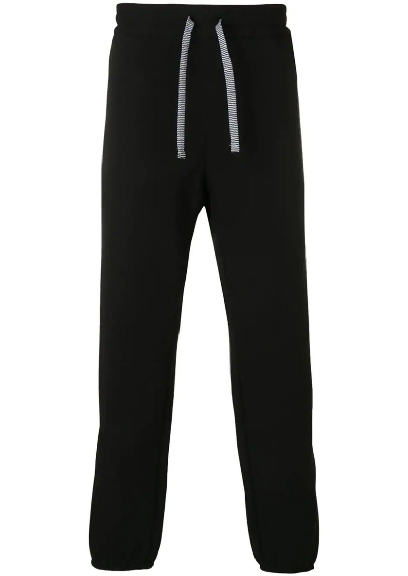 Armani high waisted track trousers
