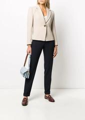 Armani high waisted trousers