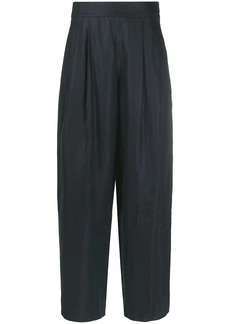 Armani high-waisted trousers
