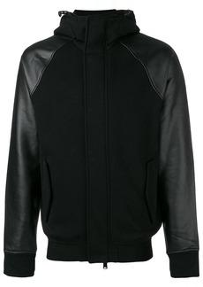 Armani hooded bomber jacket