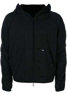 Armani hooded cropped jacket
