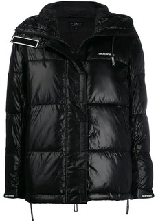 Armani hooded puffer jacket