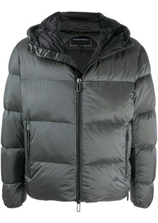 Armani hooded puffer jacket