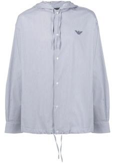 Armani hooded shirt