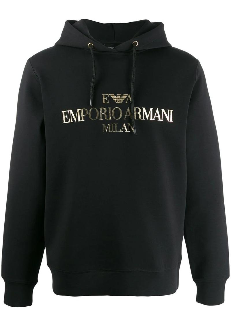 Armani hooded sweatshirt