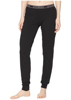 Armani Iconic Logoband Cuff Sweatpants