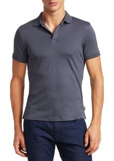 Armani Interlock Jersey Polo