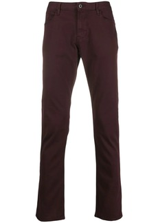 Armani J06 mid-rise straight-leg jeans