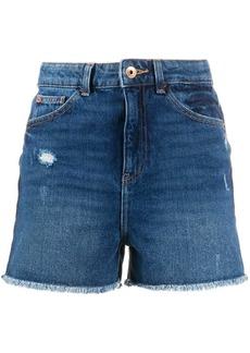 Armani J32 Slim high-waisted shorts