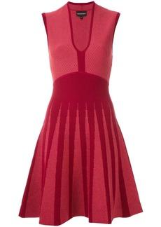 Armani jacquard A-line dress