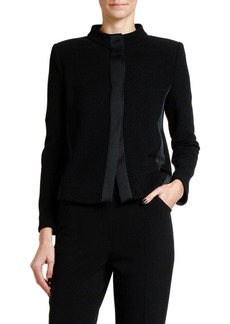 Armani Jacquard Jersey Jacket