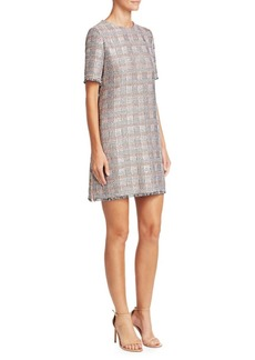 Armani Jacquard Mini Dress