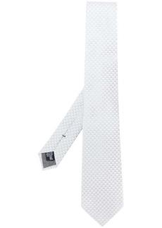 Armani jacquard pattern tie