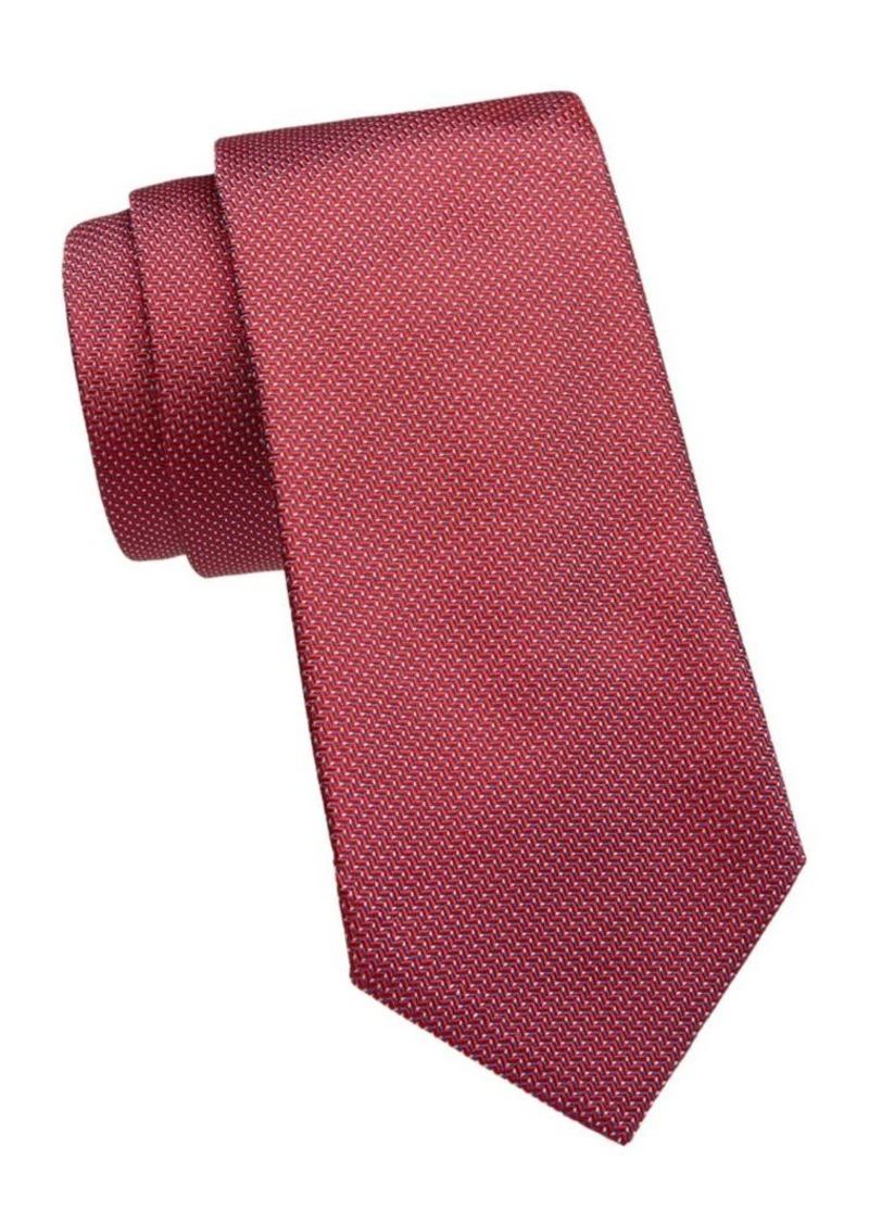 Armani Jacquard Silk Tie