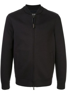 Armani jersey bomber jacket