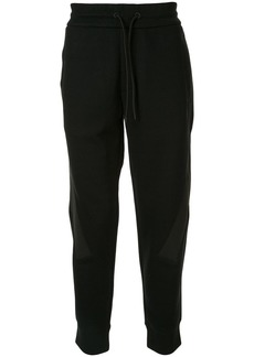Armani jersey drawstring trackpants