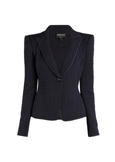 Armani Jersey Matelasse Jacket