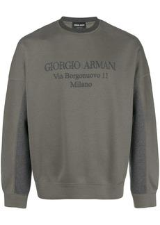 Armani jersey sweater
