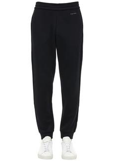 Armani Jersey Sweatpants W/logo Details