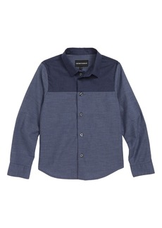 Armani Junior Denim Shirt (Little Boys & Big Boys)