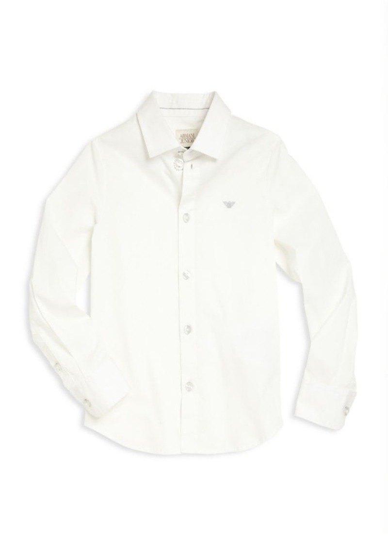 Armani Junior Little Boy's & Boy's Button Down Shirt