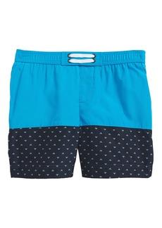 Armani Junior Logo Swim Trunks (Little Boys & Big Boys)