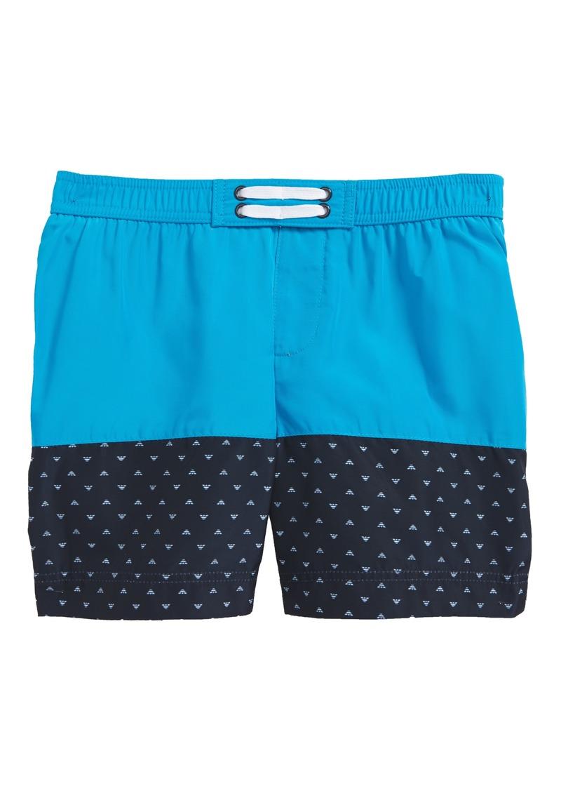 3c9015bf0191a Armani Junior Armani Junior Logo Swim Trunks (Little Boys & Big Boys ...