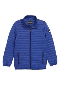 Armani Junior Packable Puffer Coat (Little Boys & Big Boys)