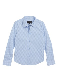 Armani Junior Print Shirt (Little Boys & Big Boys)