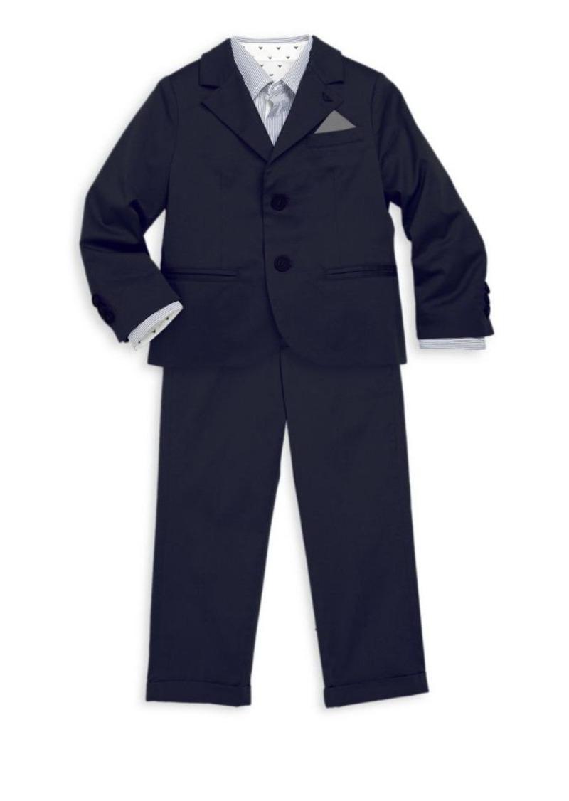 Armani Junior Toddler's & Little Boy's Two-Piece Suit Jacket & Pants Set