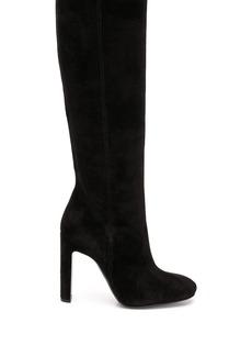 Armani knee-high boots
