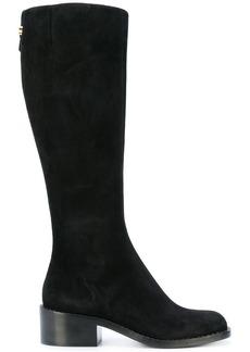 Armani knee length boots