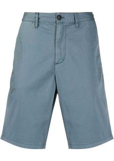 Armani knee-length logo plaque Bermuda shorts