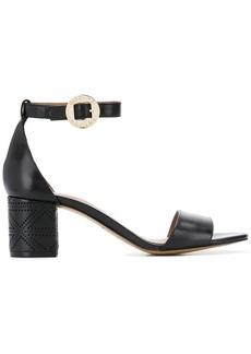 Armani lace heel sandal