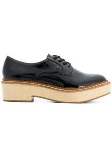 Armani lace-up block sole shoes