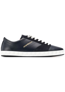 Armani lace-up low sneakers