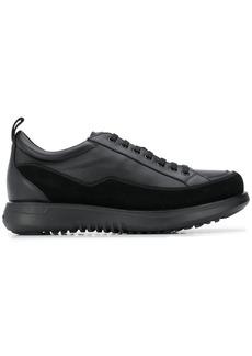 Armani lace-up platform sole sneakers
