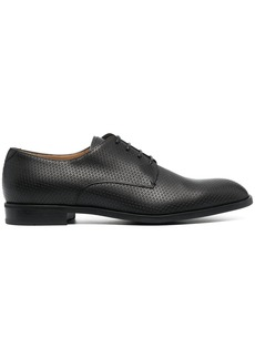 Armani polished lace-up shoes