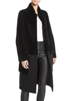 Armani Lamb-Shearling Coat