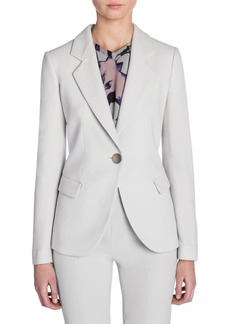 Armani Lana One-Button Jacket