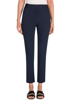Armani Lana Wool-Blend Crop Pants