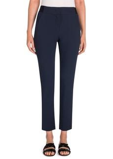 Armani Lana Wool-Blend Crop Pants
