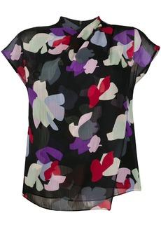 Armani layered floral print T-shirt