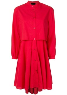 Armani layered shirt dress